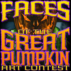 Faces of the Great Pumpkin Art Contest