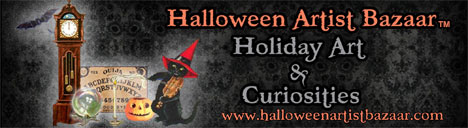 Halloween Artists Bazaar