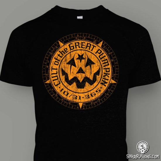 Cult of the Great Pumpkin Logo T-Shirt