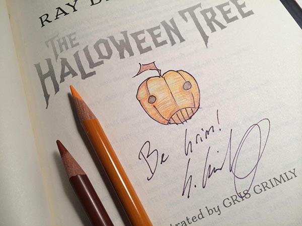 Gris Grimly Illustrates Bradbury's Halloween Tree 2