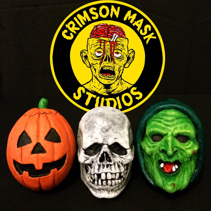 Halloween III: Season of the Witch Mask Magnet Set from Crimson ...