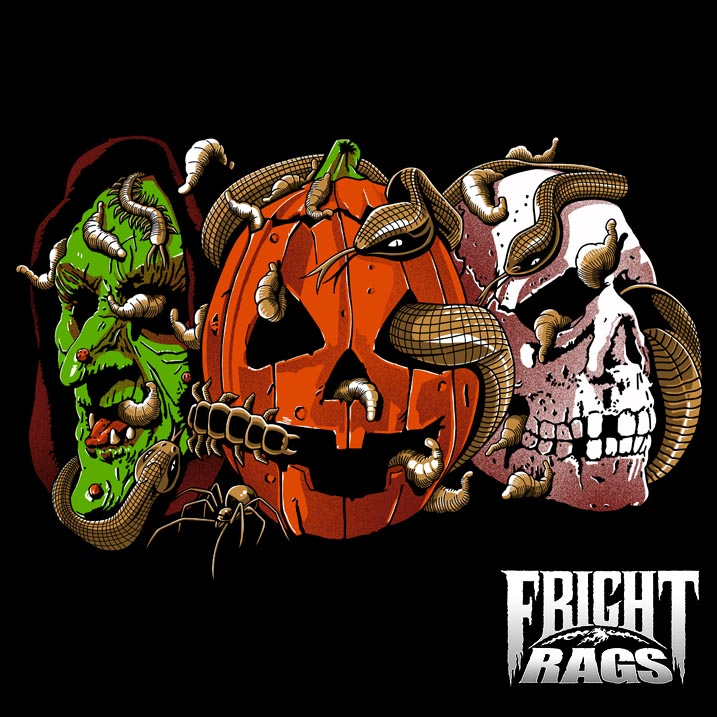 the big giveaway fright rags t shirt