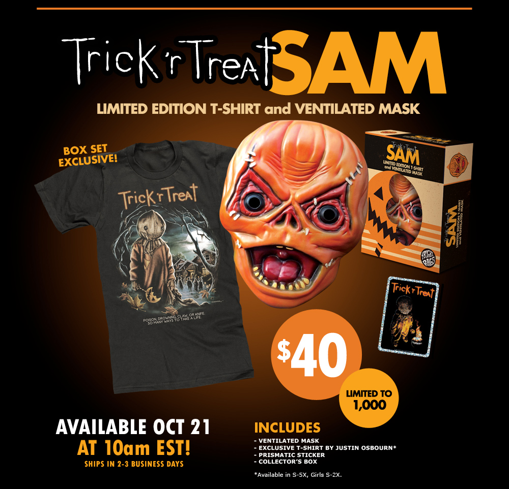 Fright Rags Trick 'r Treat Collection - Cult of the Great