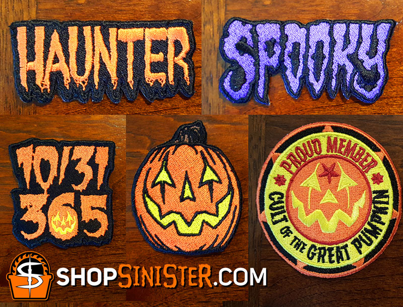 New Halloween Patches