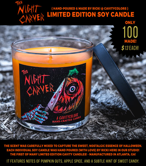 The Night Carver Candle