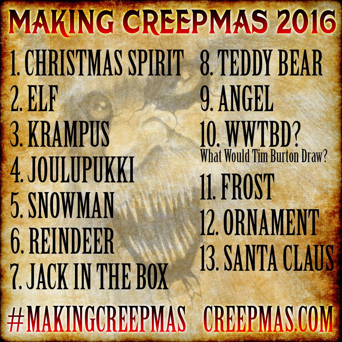 #MakingCreepmas
