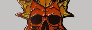 Autumn Skull by ShopSinister