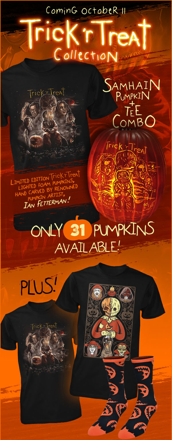 Fright-Rags Trick 'r Treat Combo