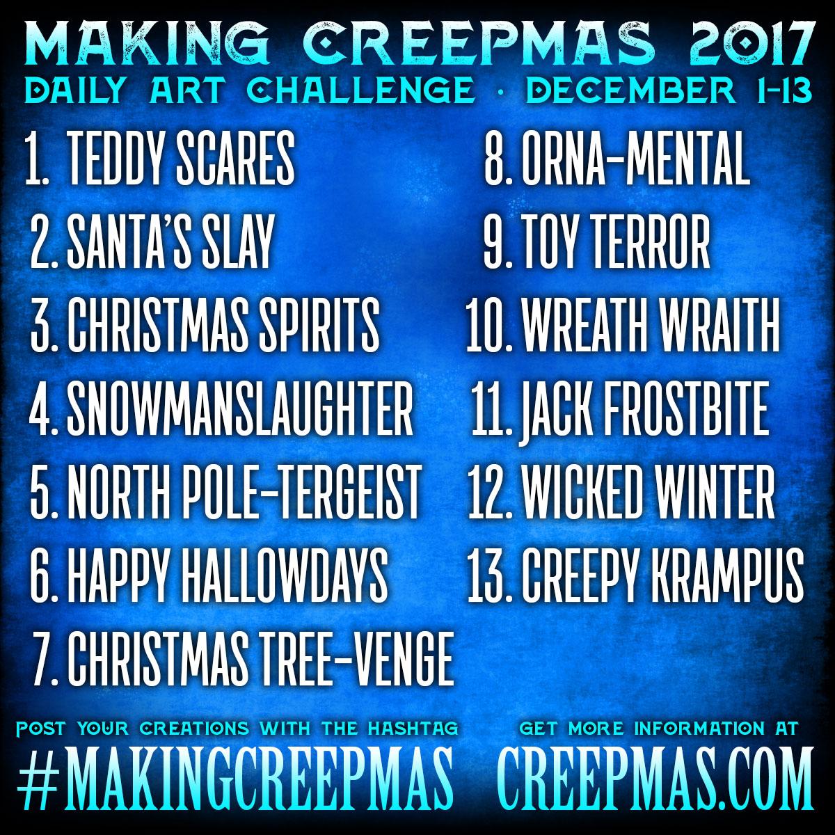 #MakingCreepmas 2017